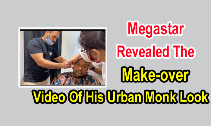 Megastar Revealed The Make-over Video Of His Urban Monk Look