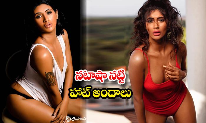 Model Natasha Natty hot poses-నటాషా నట్టి హాట్ అందాలు