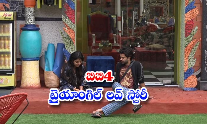 Big Boss 4 Monal Gajjar Playing Triangle Love Story