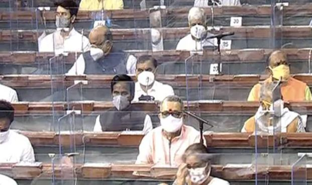 Parliament's Monsoon Session: 25 MPs Test Positive For Coronavirus On Day 1-General-English-Telugu Tollywood Photo Image