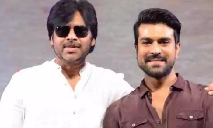 TeluguStop.com - Pawan Kalyan Thanks Ram Charan For Kind Gesture-Movie-English-Telugu Tollywood Photo Image