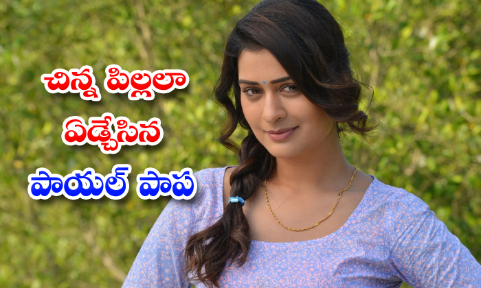 TeluguStop.com - Payal Rajput Cries Screams Like A Child During Covid 19 Test