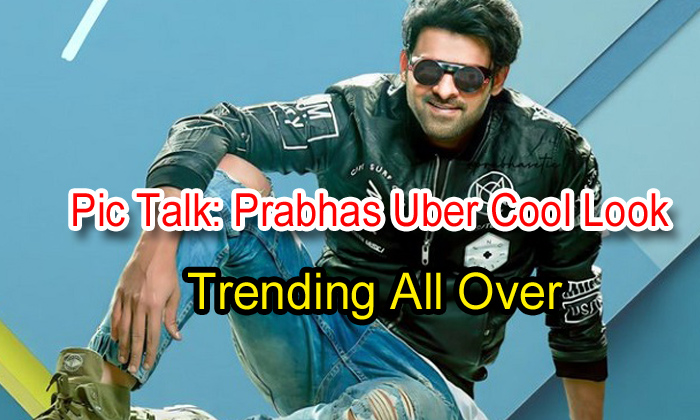 Pic Talk: Prabhas Uber Cool Look Trending All Over