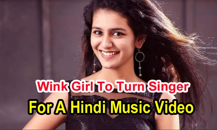 Wink Girl To Turn Singer For A Hindi Music Video
