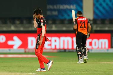 TeluguStop.com - Ipl 2020, Rcb Vs Srh: Ab De Villiers, Chahal Scripts Historic Win For Rcb
