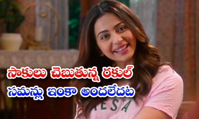 TeluguStop.com - Rakul Preet Singh Said No Acb Summons Received
