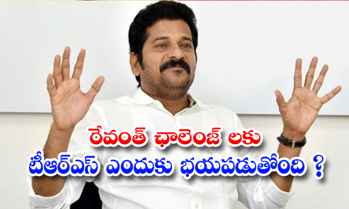 TeluguStop.com - Revanth Reddy Challenges Not Accsepted On Trs Government