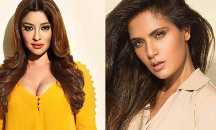 TeluguStop.com - Richa Chadda Takes Legal Notices Against On Payal Ghosh