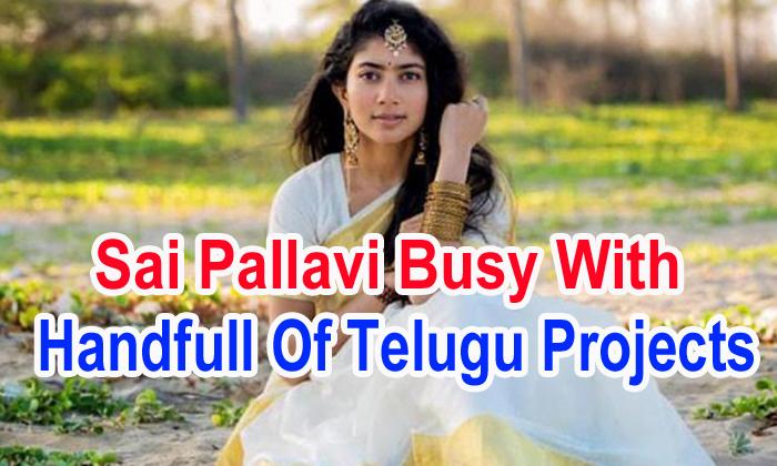 TeluguStop.com - Sai Pallavi Busy With Handfull Of Telugu Projects