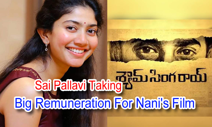 TeluguStop.com - Sai Pallavi Taking Big Remuneration For Nani's Film