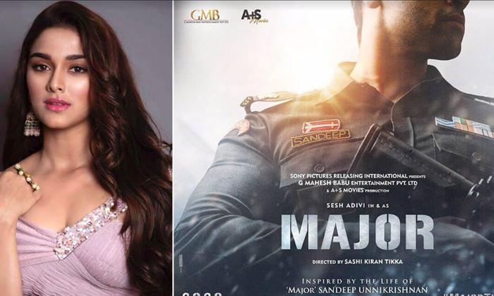 TeluguStop.com - Saiee Manjrekar Joins Adivi Sesh's Major'-Latest News English-Telugu Tollywood Photo Image