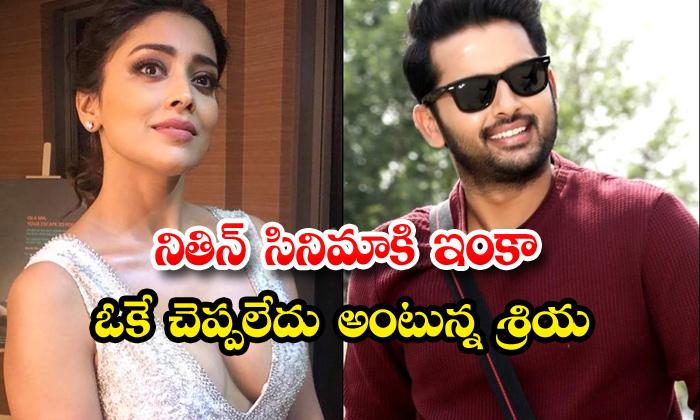 TeluguStop.com - Shriya Gives Clarity On Andhadhun Telugu Remake