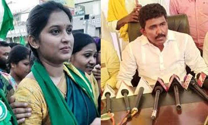 Telugu Chandra Babu Naidu, Fighting, Politics, Raju, Singanamala, Sravani, Tdp, Tdp Women Leaer Vs Gent Leader-Telugu Political News