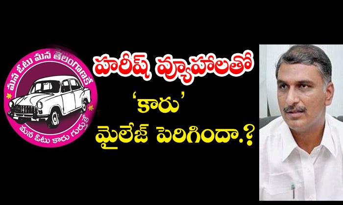TeluguStop.com - Harishrao Dubbaka Constituency People Support