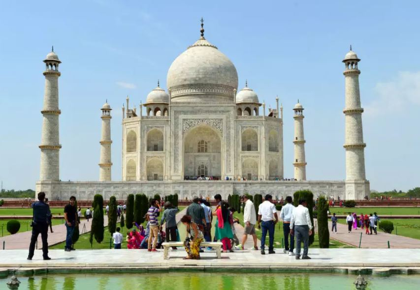 TeluguStop.com - Taj Mahal Re-opens After 6-months Lockdown-General-English-Telugu Tollywood Photo Image