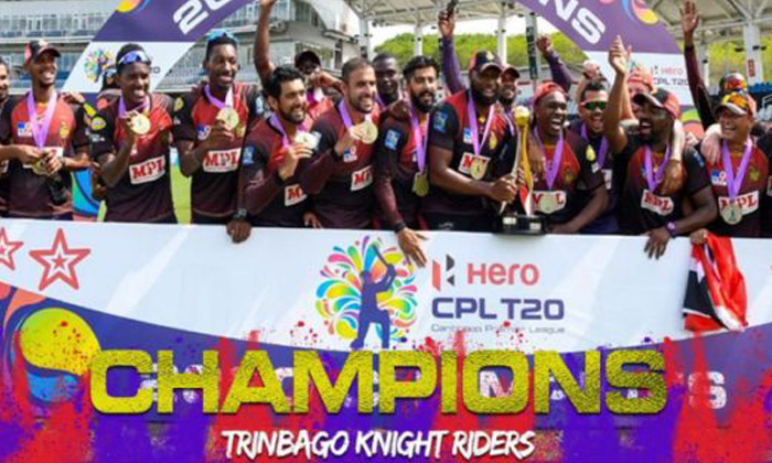 TeluguStop.com - Trinbago Knight Riders Wins The Caribbean Premier League Title 2020