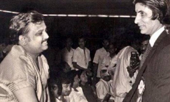 TeluguStop.com - Amitabh Bachchan Reacts To Sp Balabrahmanyam's Death