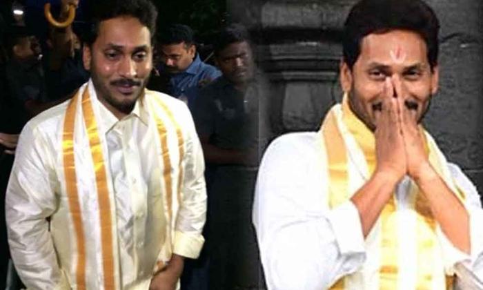 TeluguStop.com - పంచె కట్టి .. నామం పెట్టి బీజేపీని బుట్టలో వేసేసిన జగన్-Political-Telugu Tollywood Photo Image