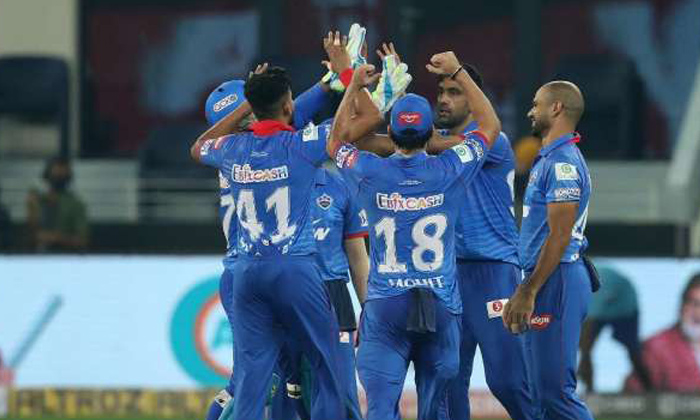 TeluguStop.com - Ipl 2020: Delhi Capitals Defeats Kingsxipunjab In A Thrilling Super Over.
