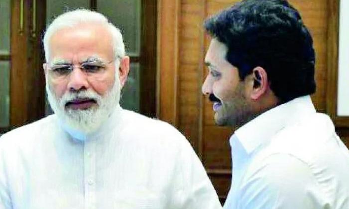 Telugu Ap Bjp Leaders, Ap Cm Jagan, Central Bjp Leaders, Narendra Modhi, Parlament Leaders, Ysrcp Ministers-Telugu Political News