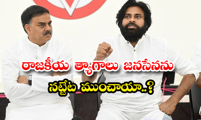 TeluguStop.com - Is Janasena Creates His Own Problems