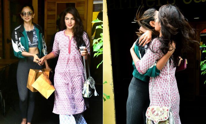 TeluguStop.com - Rhea Reveals Rakul And Sara Ali Khan Names In Drugs Case.