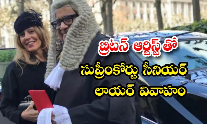 TeluguStop.com - 65 Year Old Harish Salve Second Marriage With London Based Artist