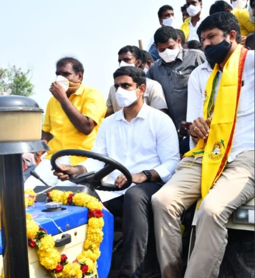 TeluguStop.com - A Case Filed Against Nara Lokesh-General-English-Telugu Tollywood Photo Image