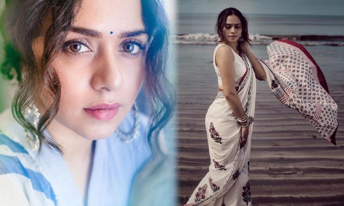 Actress Amruta Khanvilkar Stunning Looks-telugu Actress Hot Photos Actress Amruta Khanvilkar Stunning Looks - Telugu So High Resolution Photo