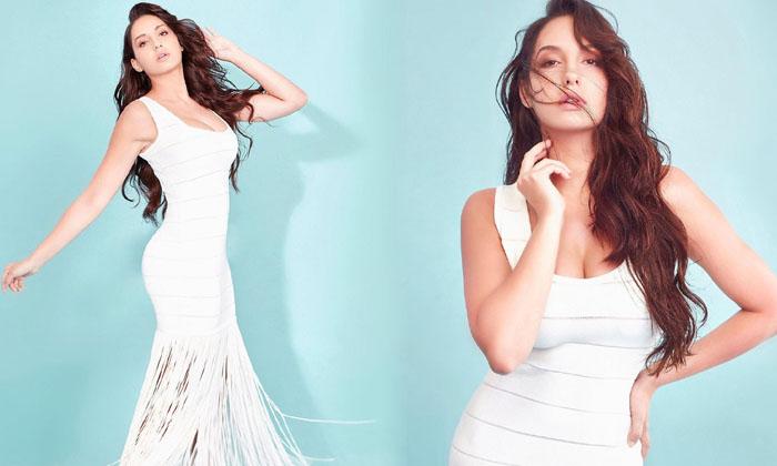 Actress Nora Fatehi Stunning Images-telugu Actress Hot Photos Actress Nora Fatehi Stunning Images - Telugu Bollywood Ho High Resolution Photo