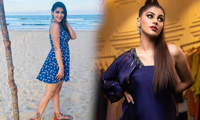 Actress Yashika Aannand Sizzling And Spicy Pictures-telugu Actress Hot Photos Actress Yashika Aannand Sizzling And Spicy High Resolution Photo