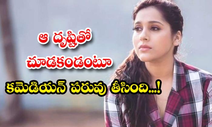 TeluguStop.com - Star Anchor Rashmi Gautam Counter To Emanuel In Extra Jabardasth Show