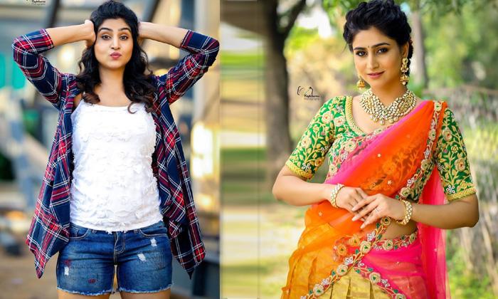 Anchor Varshini Sounderajan Latest Photo Shoot - Telugu Actress Varshini Sounderajan Tollywood Alluring Images Amazing High Resolution Photo