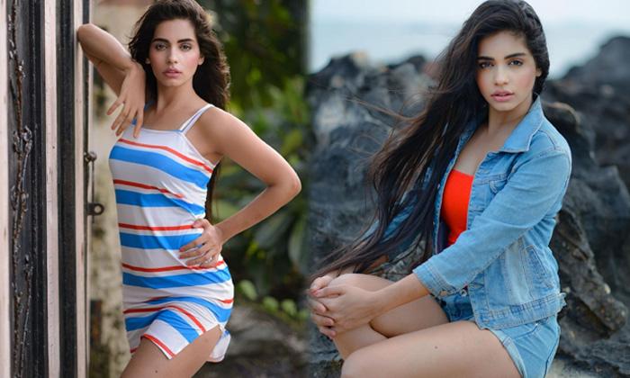 Bollywood Hot Actress Nyeisha Rajput Romantic Poses-telugu Actress Hot Spicy Photos Bollywood Hot Actress Nyeisha Rajput High Resolution Photo