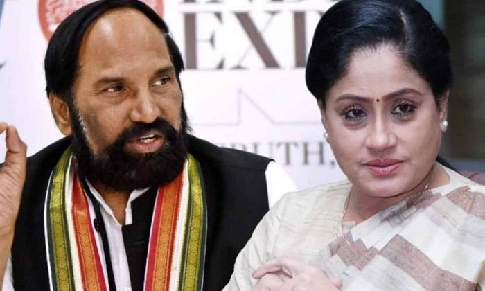 TeluguStop.com - విజయశాంతి కోపమంతా ఉత్తమ్ మీదనే -Political-Telugu Tollywood Photo Image