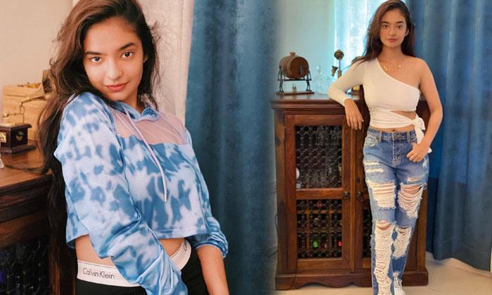 Glamorous Actress Anushka Sen Amazing Poses-telugu Actress Hot Photos Glamorous Actress Anushka Sen Amazing Poses - Telu High Resolution Photo