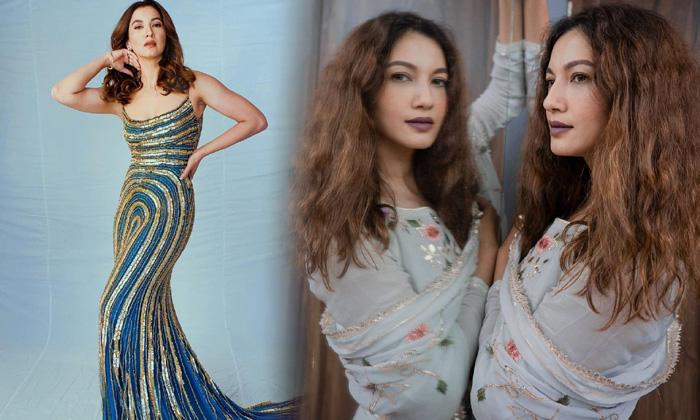 Glamorous Actress Gauahar Khan Adorable Poses-telugu Actress Hot Photos Glamorous Actress Gauahar Khan Adorable Poses - High Resolution Photo