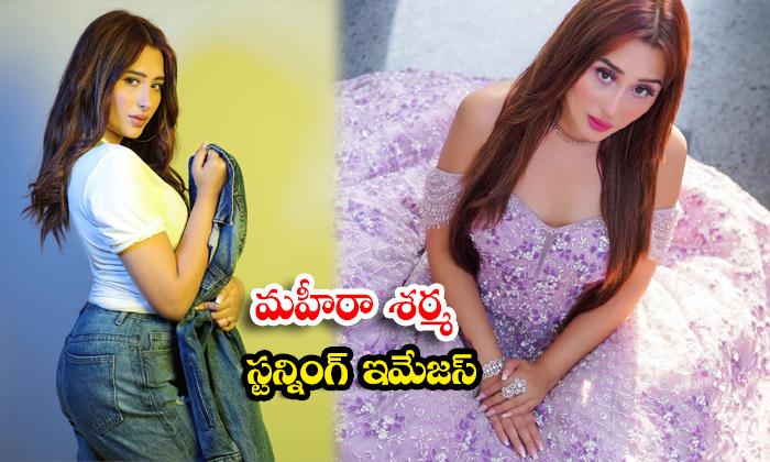 Glamorous pictures of Mahira Sharma-మహీరా శర్మ స్టన్నింగ్ ఇమేజస్
