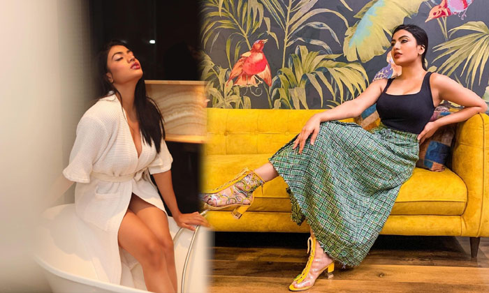 Hat Beauty Urvi Shetty Glamorous Images-telugu Actress Hot Photos Hat Beauty Urvi Shetty Glamorous Images - Telugu Bik High Resolution Photo