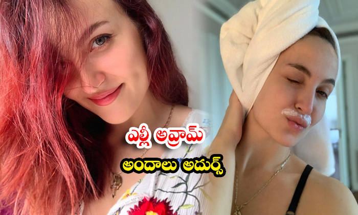 Indian Model And Actress Elli Avrram Cute Candid Clicks-telugu Actress Hot Photos Indian Model And Actress Elli Avrram C High Resolution Photo