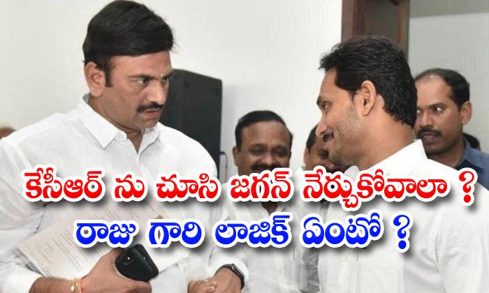TeluguStop.com - Mp Raghuramakrishnamraju Sensational Coments On Jagan