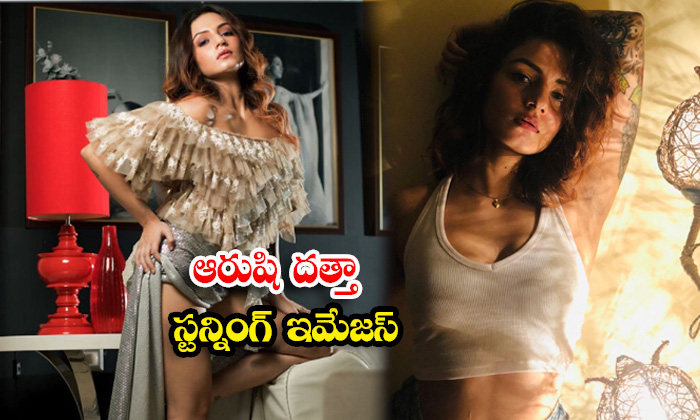 Mind blowing pictures of actress Aarushi Dutta-ఆరుషి దత్తా స్టన్నింగ్ ఇమేజస్