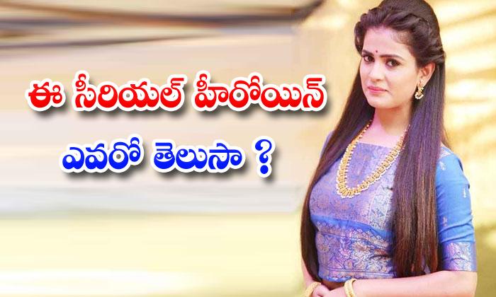 TeluguStop.com - Telugu Serial Actress Tanuja Gowda Real Life News
