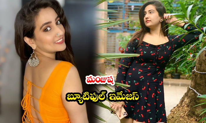 Telugu Anchor Manjusha Rampalli Latest HD images-మంజూష బ్యూటిఫుల్ ఇమేజస్