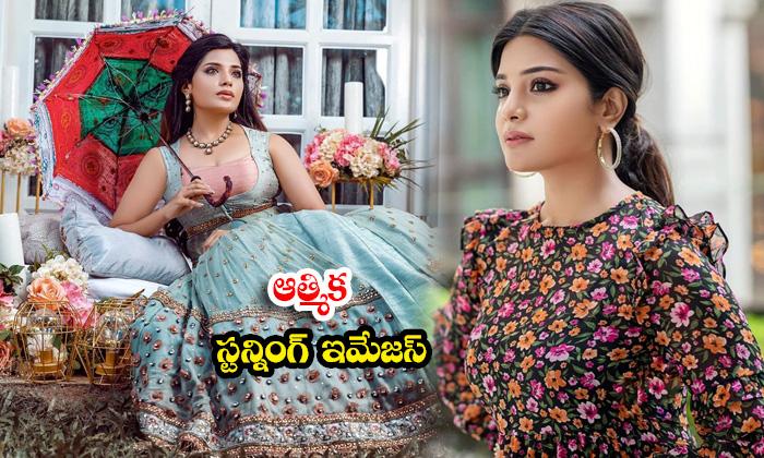 Tollywood Actress Aathmika Glamorous images-ఆత్మికా స్టన్నింగ్ ఇమేజస్