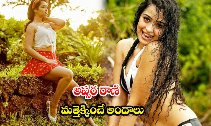 Tollywood Hot and Sexy actress Apsara Rani bold images-అప్సర రాణి మత్తెక్కించే అందాలు