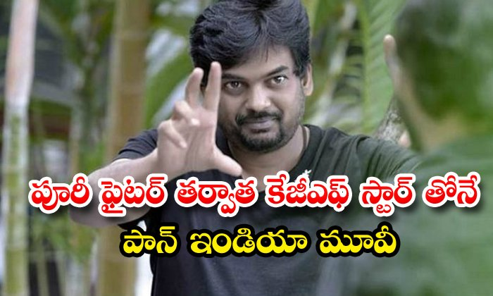 TeluguStop.com - Puri Jagannadh To Team Up With Kgf Actor Yash