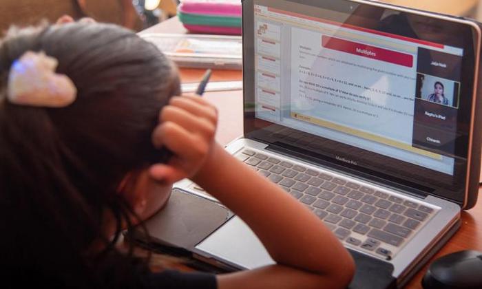 TeluguStop.com - ఆన్ లైన్ క్లాస్ ల వల్ల,వర్క్ ఫ్రం హోం ల వల్ల పెరుగుతున్న సమస్యలు ఇవే-Breaking/Featured News Slide-Telugu Tollywood Photo Image