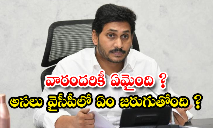 TeluguStop.com - Ysrcp Party Leaders Are Political Silence Aganist In Tdp