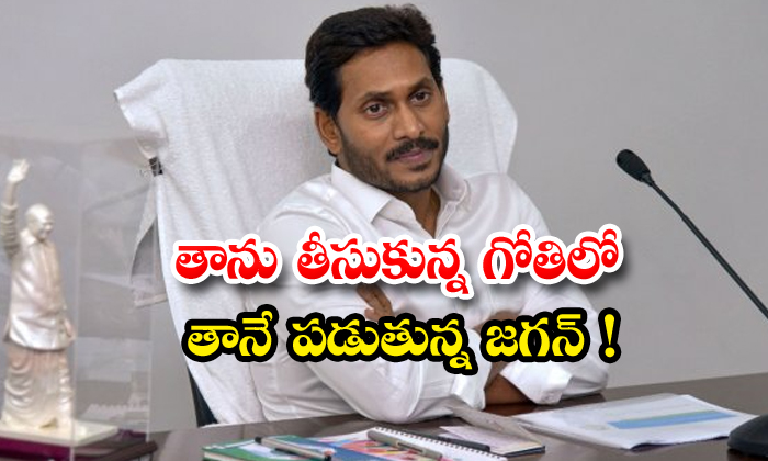 TeluguStop.com - Jagan Will Fallen In His Own Creating Hole